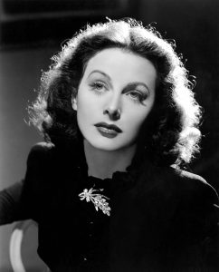 Brainy beauty ... actress and inventor Hedy Lamarr.